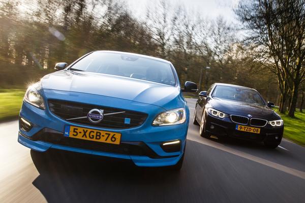 Video: Dubbeltest - Volvo S60 Polestar vs BMW 435i Gran Coupe
