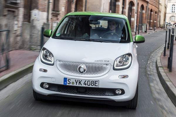 Rij-impressie: Smart Forfour Electric Drive