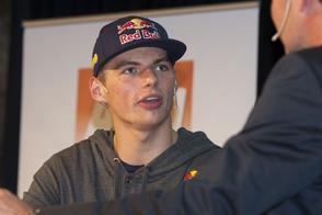 Max Verstappen debuteert vrijdag in F1