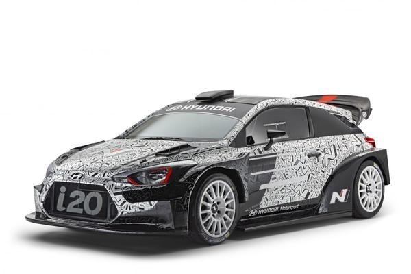 Hyundai i20 met WRC-spieren