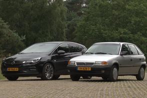 Opel Astra Oud & Nieuw - Duurtestgarage