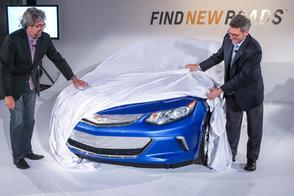 Nieuwe Chevrolet Volt laat zijn neus zien