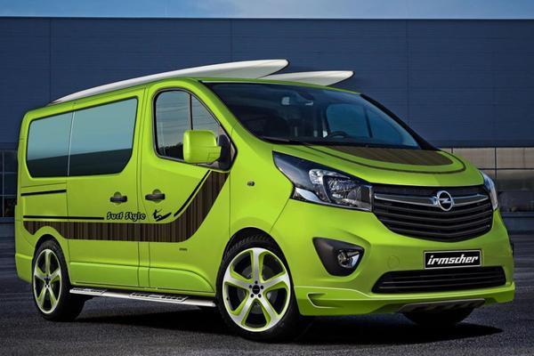 Irmscher pakt Opel Vivaro nogmaals aan