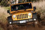 Jeep Wrangler op de hybridetoer?