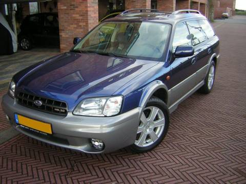 subaru legacy outback 3 0 h6 awd 2001 gebruikerservaring. Black Bedroom Furniture Sets. Home Design Ideas