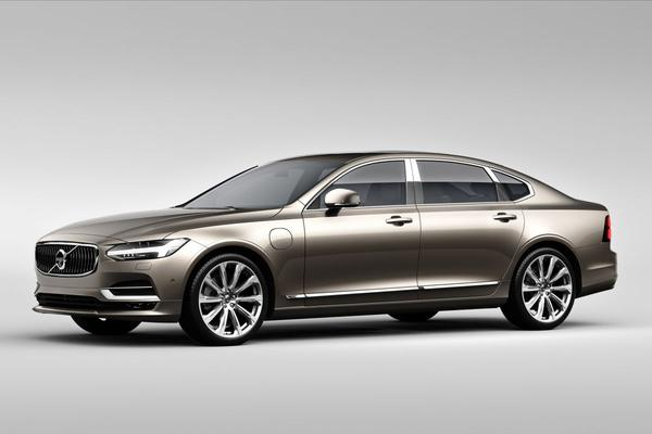 Volvo S90 Excellence onthuld