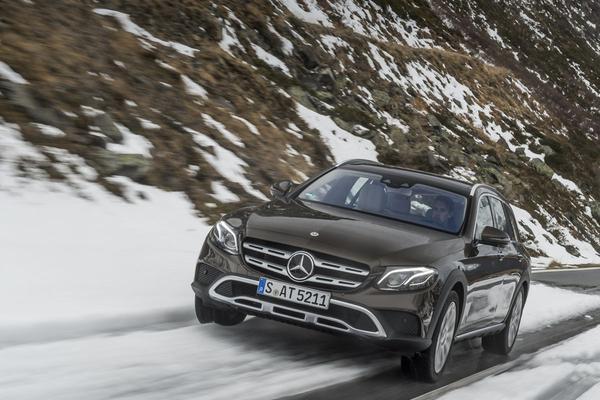 Rij-impressie: Mercedes-Benz E-klasse All-Terrain