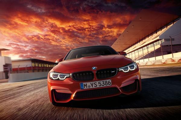 In beeld: gefacelifte BMW M4