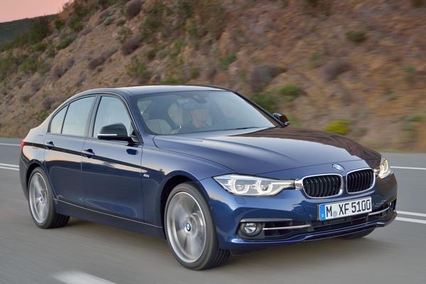 BMW prijst gefacelifte 3-serie