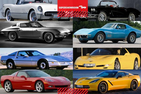 Supershowroom: Chevrolet Corvette