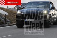 Porsche Cayenne gespot - Spionage