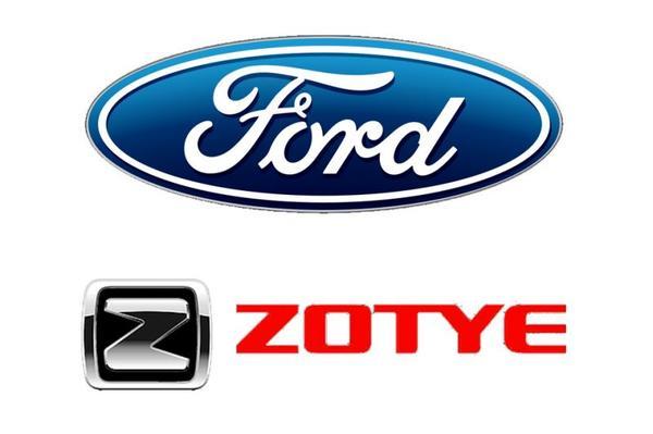 Ford en Zotye richten zich samen op Chinese EV's