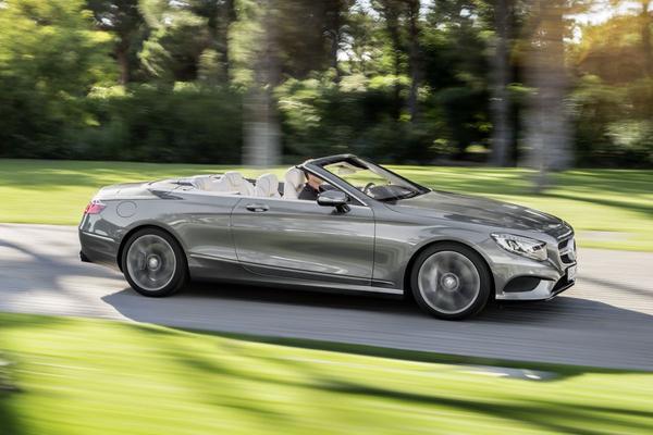 Officieel: Mercedes S-klasse Cabrio