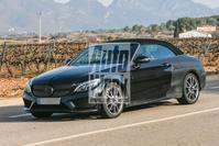 Spyshots Mercedes-AMG C43 en C63 Cabrio