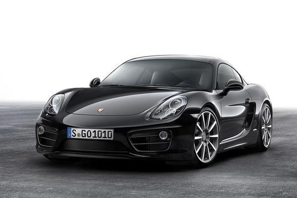 Sinister: Porsche Cayman Black Edition