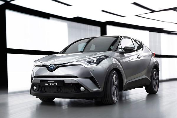 Mogelijk hete Toyota C-HR op komst