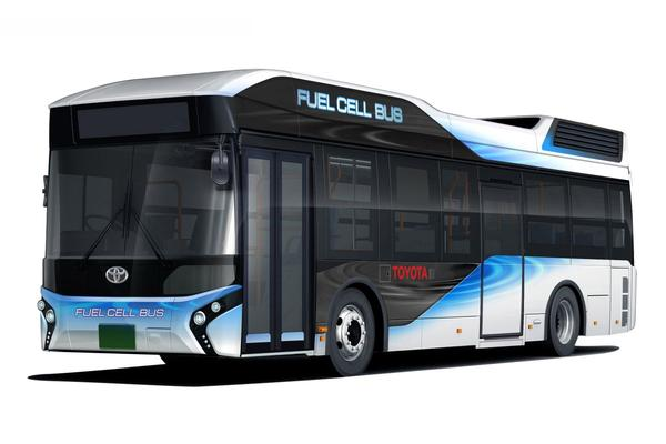 Toyota introduceert brandstofcel-bus in Japan