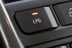 LPG-schakelaar Opel Astra