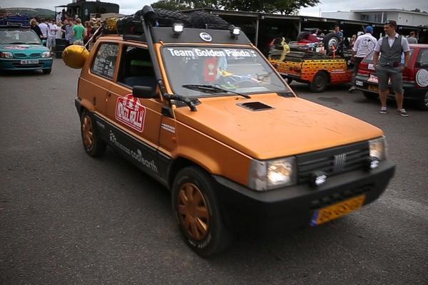 Video: Fiat Panda goes Mongol Rally - Deel 1