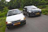Opel Astra F en Opel Astra K
