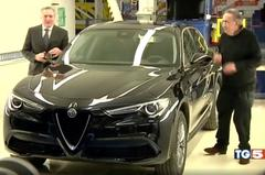 Alfa Romeo Stelvio in burgertrim