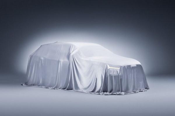 Audi Q2 schemert door