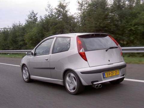 fiat punto 1 2 16v sporting 2003 gebruikerservaring autoreviews. Black Bedroom Furniture Sets. Home Design Ideas
