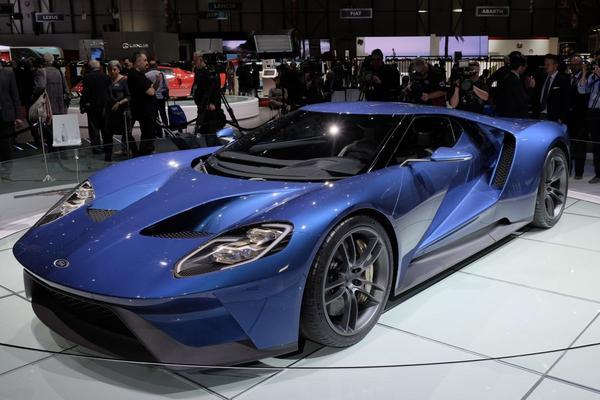 'Ford GT komt pas eind 2016'