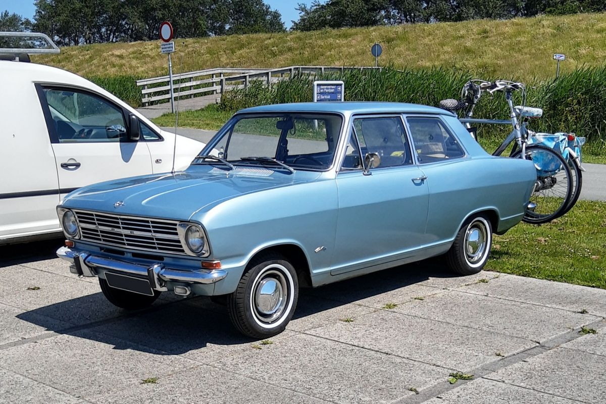 In het wild Opel Kadett