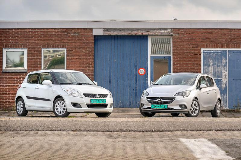 Suzuki Swift vs. Opel Corsa - Occasiondubbeltest