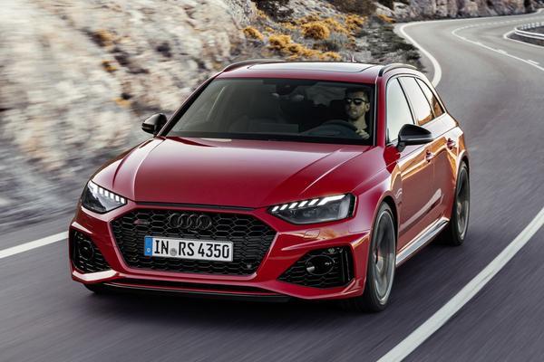Vernieuwde Audi RS4 Avant krijgt prijs
