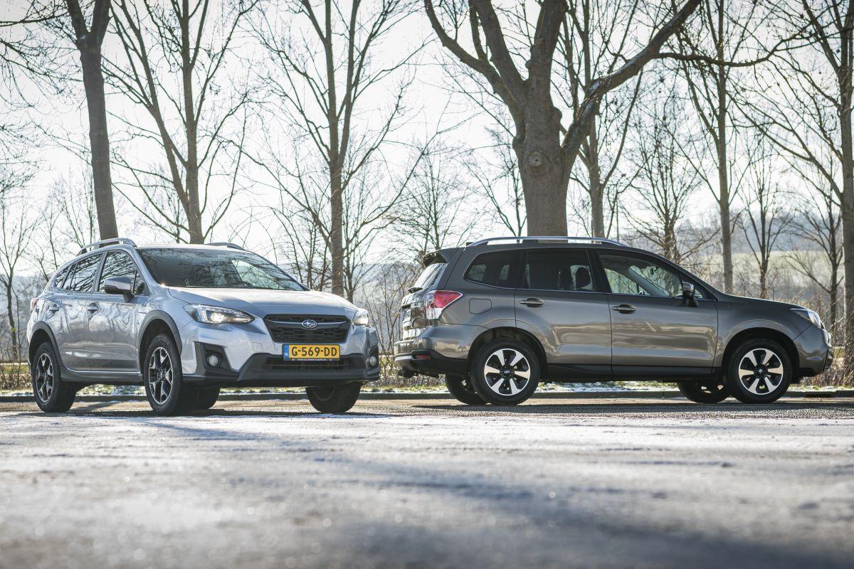 Subaru XV en Subaru Forester