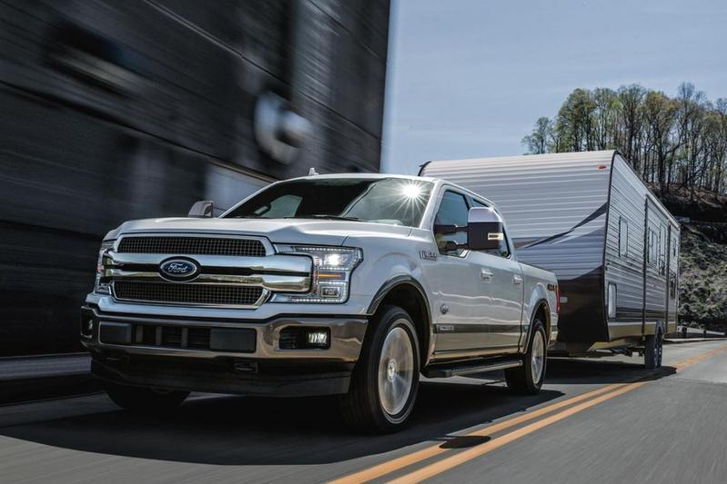 Dieselmotor Ford F-150 belicht