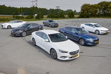 Ford Mondeo - Mazda 6 - Opel Insignia - Renault Talisman - Skoda Superb - Volksw