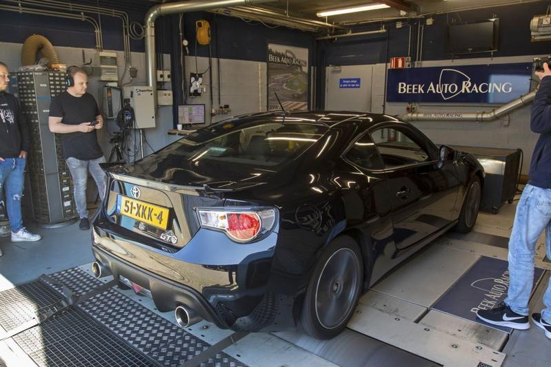Toyota GT86 2.0 D4-S - Op de Rollenbank
