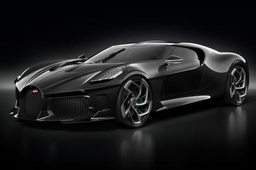 Bugatti 'La Voiture Noire' gepresenteerd