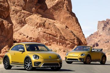 Volkswagen Beetle Dune springt in het diepe