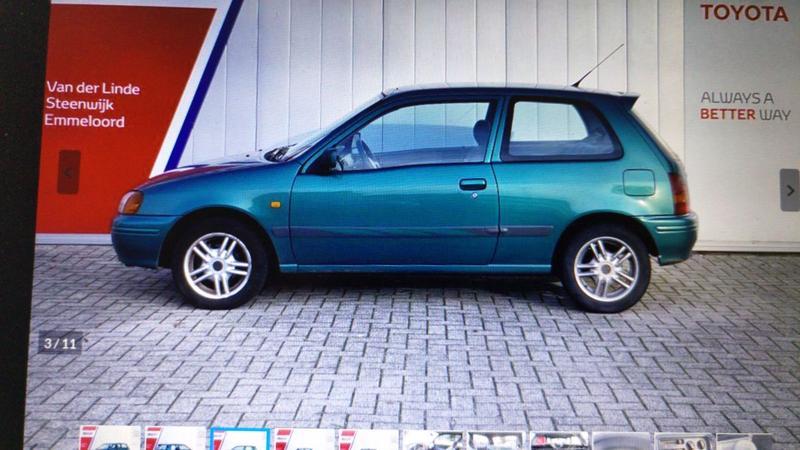 Toyota Starlet 1.3 XLi (1999)