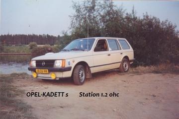 Opel Kadett Combi 1.2 S Special (1982)