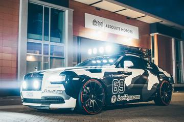 Jon Olsson presenteert Rolls-Royce Wraith
