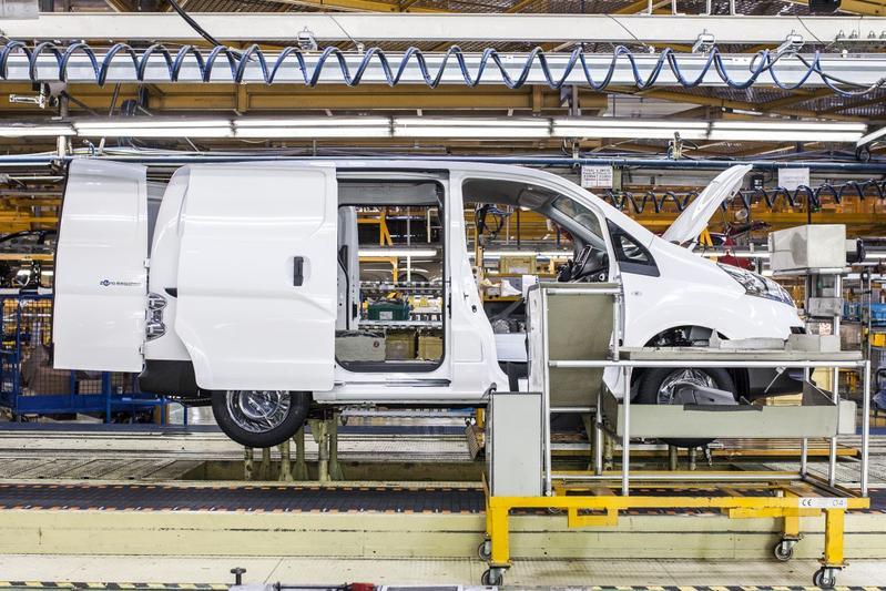 Nissan fabriek productie Barcelona Spanje