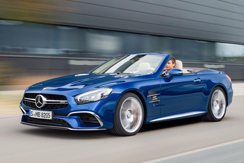 Schaduwspeler: Mercedes-Benz SL-klasse