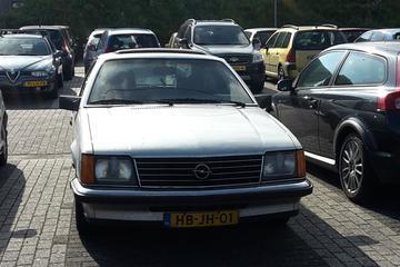In het wild: Opel Monza (1979)