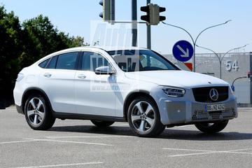 Gefacelifte Mercedes-Benz GLC Coupé gesnapt