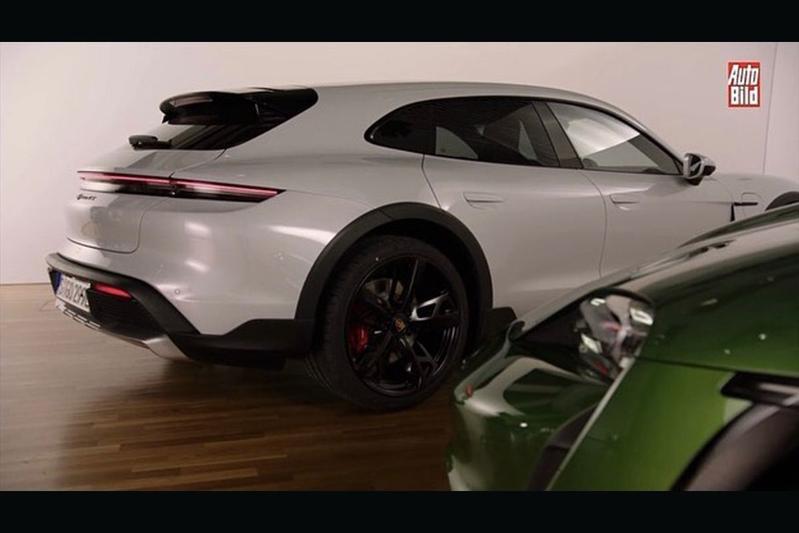 Porsche Taycan Cross Turismo gelekt