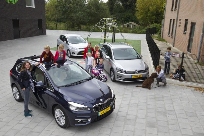 BMW 218i Active Tourer - Ford C-MAX 1.0 EcoBoost - Volkswagen Golf Sporsvan 1.4