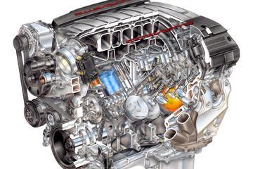 Doorkijk: Chevrolet Corvette Stingray - LT1 Motor