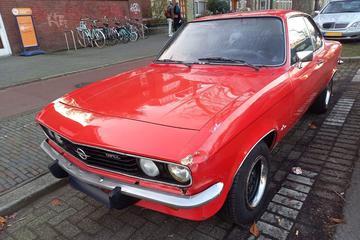 In het wild: Opel Manta A (1975)