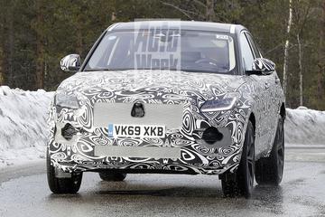 Vernieuwde Jaguar E-Pace weer op pad