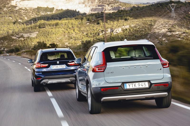 Eerste confrontatie: Volvo XC40 tegen BMW X1